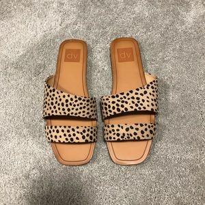 DV Bryn Asymmetrical Slide Sandals